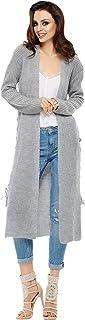 Lemoniade - Chaqueta de punto larga para mujer (fabricada en la UE) en diseño moderno