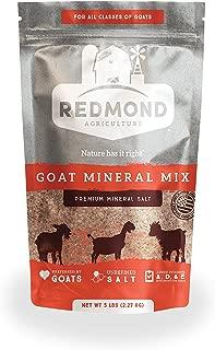REDMOND Goat Mineral Supplement Mix, Unrefined Salt,