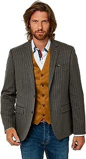 Joe Browns Mens Vintage Pin Stripe Button Up Blazer Jacket