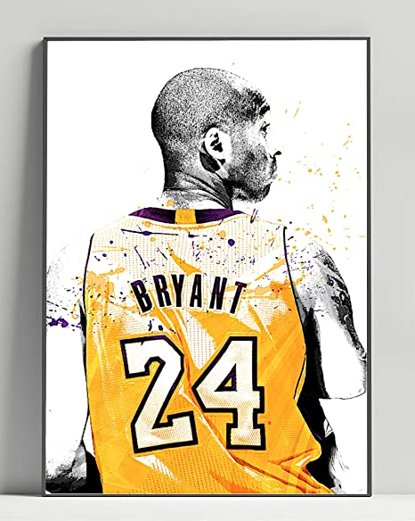 Kobe Limited Poster Artwork - Professional Wall Art Merchandise (More Sizes Available) (20x24)