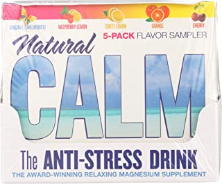 Natural Vitality Calm Counter Display, Assorted Flavors, 5 Count