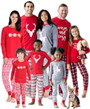 SleepytimePJs Christmas Family Matching Mix and Match Red Holiday Pajama PJ Sets