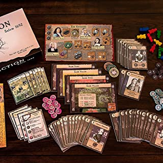 Affliction Salem 1692 - the Board Game, by DPH Games Inc.