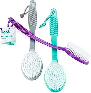 Body Benefits By body image gentle bristle bath brush, 4 Count