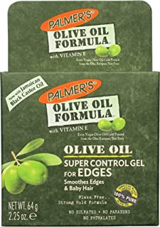 Palmer's Olive Oil Formula Super Control Hair Gel for Edges | 2.25 Ounce (Pack of 2)