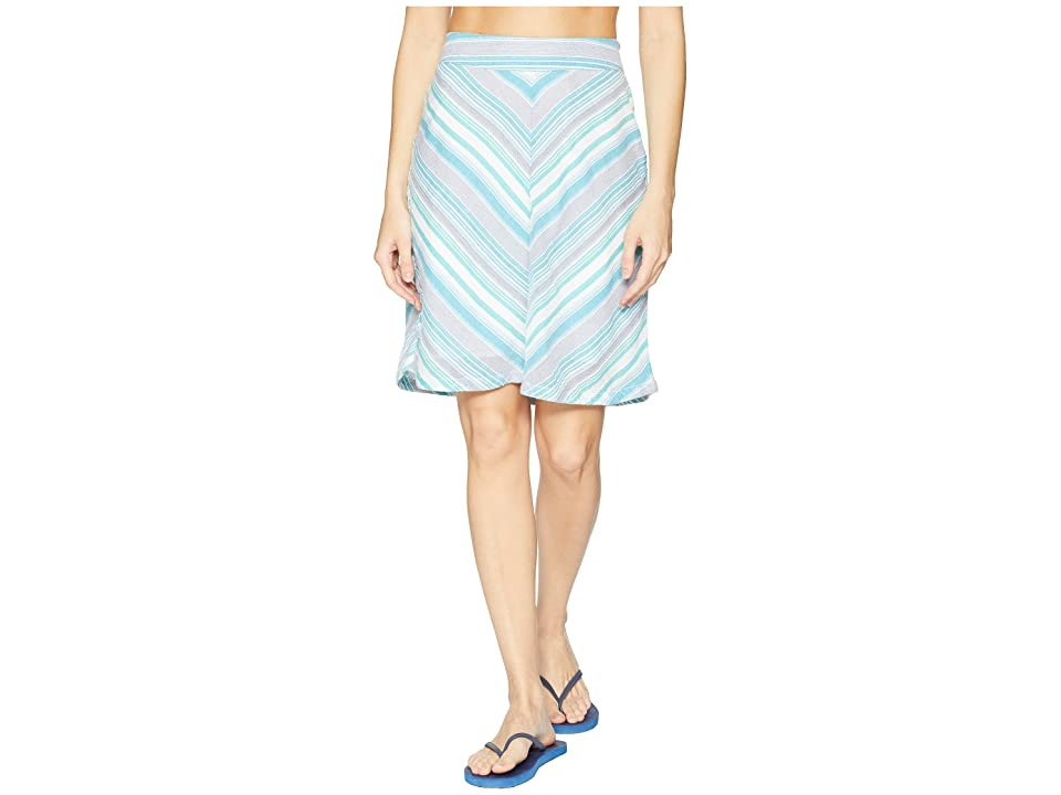 Aventura Clothing Sandpiper Skirt (Pagoda Blue) Women