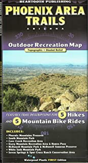 Phoenix Area Trails Outdoor Recreation Map