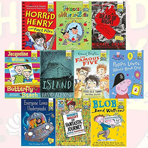 World Book Day 2017 - 10 Books Collection The Big World Book Day Prize Draw Winner