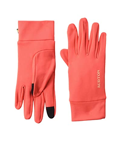 Burton Kids Screen Grab Liner Glove (Youth) (Hibiscus Pink) Extreme Cold Weather Gloves