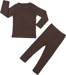 AVAUMA Baby Boys Girls Pajama Set Kids Toddler Snug fit Basic Cotton Sleepwear for Christmas and Daily