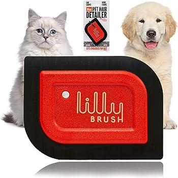 Lilly Brush Mini Pet Hair Detailer Dog Hair Remover, Cat Hair Remover, Pet Hair Remover