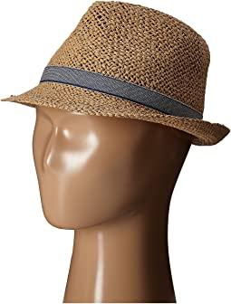 San Diego Hat Company Kids Woven Paper Fedora Hat (Little Kids)