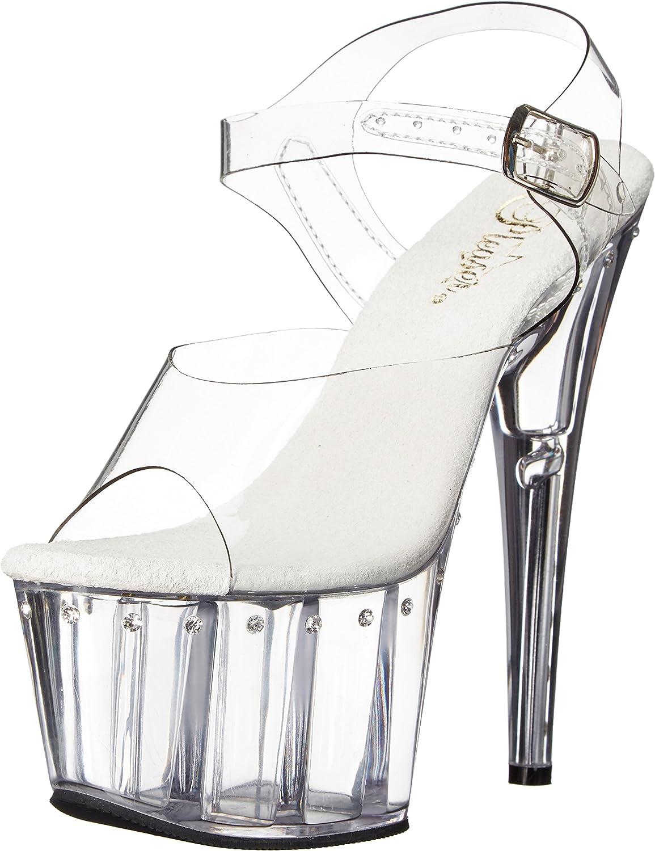Pleaser Womens ado708ls c m Platform Dress Sandal