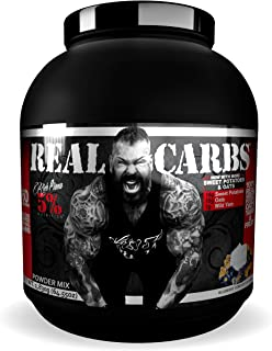 Rich Piana 5% Nutrition Real Carbs with Real Food Complex Carbohydrates, Long-Lasting Low Glycemic Energy for Pre-Workout/...
