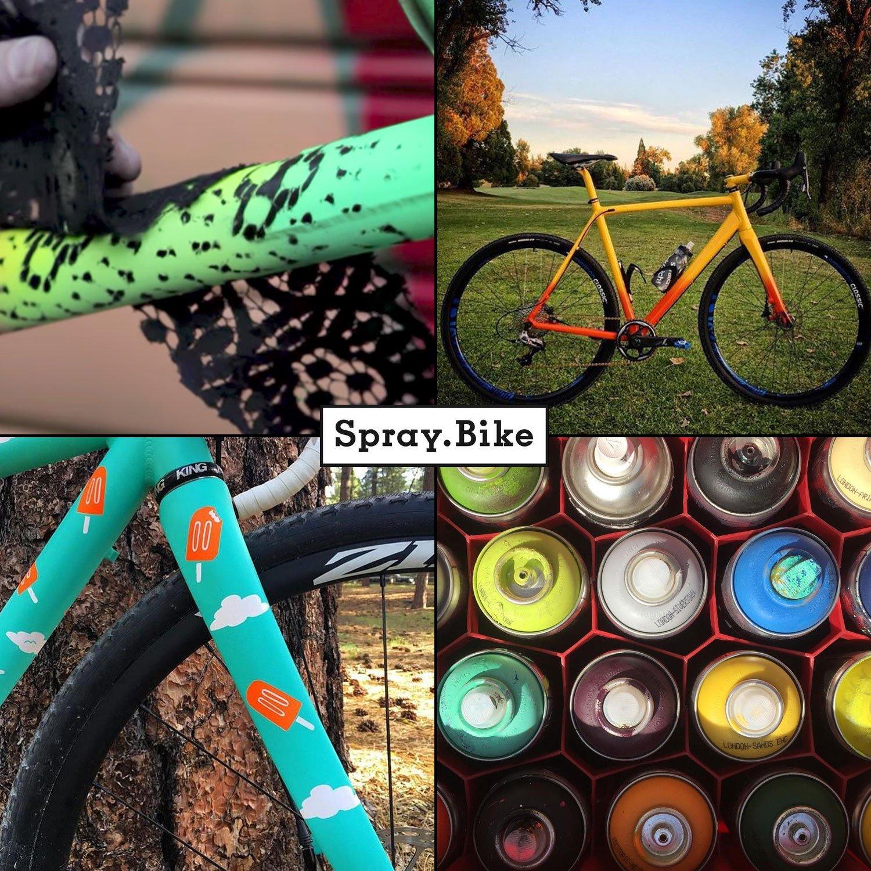 Bicicleta barniz spray Pocket Clear a la mitad de color ...