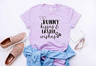 Womens easter tee Bunny tshirt Easter shirt Cute ladies easter outfit Happy Easter