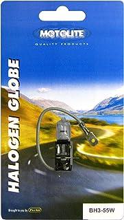Motolite BH3-55W H3 55W Halogen Globe in Blister Pack