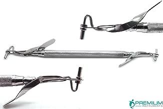 Dental Amalgam Filling Carrier Mini/Regular 1.5mm/2mm Double Ended Restorative Instruments