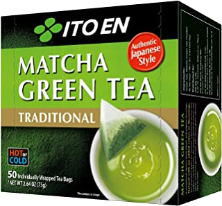 Sponsored Ad - Ito En Traditional Matcha Green Tea 50 Count Zero Calories, Caffeinated