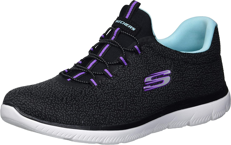 Skechers Women's Summits-Fresh Take Sneaker