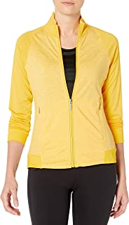 Cutter & Buck Women's Moisture Wicking, UPF 50+, Long-Sleeve Lena Full Zip Jacket