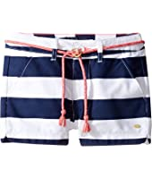 Tommy Hilfiger Kids - Rugby Stripe Shorts with Rope Belt (Little Kids/Big Kids)