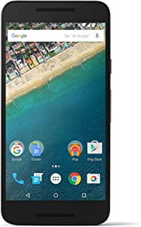 LG Google Nexus 5X H791 32GB Factory Unlocked GSM 4G LTE Hexa-Core Smartphone w/ 12.3MP Camera - Carbon Black (Certified Refurbished)