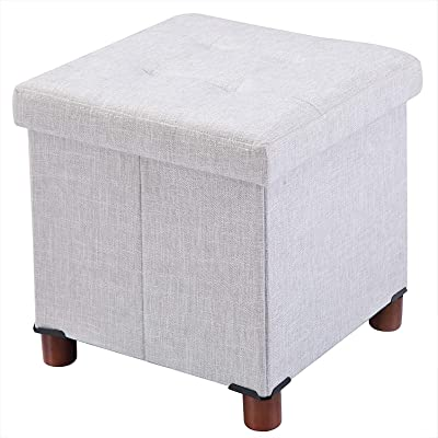 Amazon Com Christopher Knight Home Mateo Traditional Home Office Fabric File Storage Ottoman Gray Home Kitchen