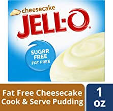 JELL-O Cheesecake Sugar Free Instant Pudding & Pie Filling Mix (1 oz Box)