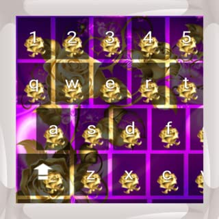 Gold Roses Keyboards