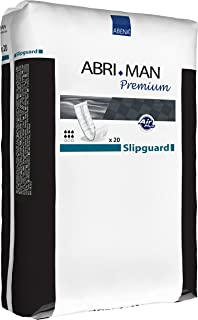 Abena Abri-Man Male Pouch Incontinence Pads Slipguard, 20 Count
