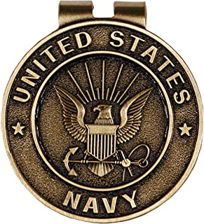 United States Navy Bronze Military Money Clip