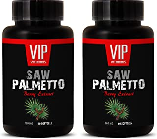 Prostate aid - Saw Palmetto Berry Extract 160 MG - Saw Palmetto Doctors Best - 2 Bottles 120 Softgels