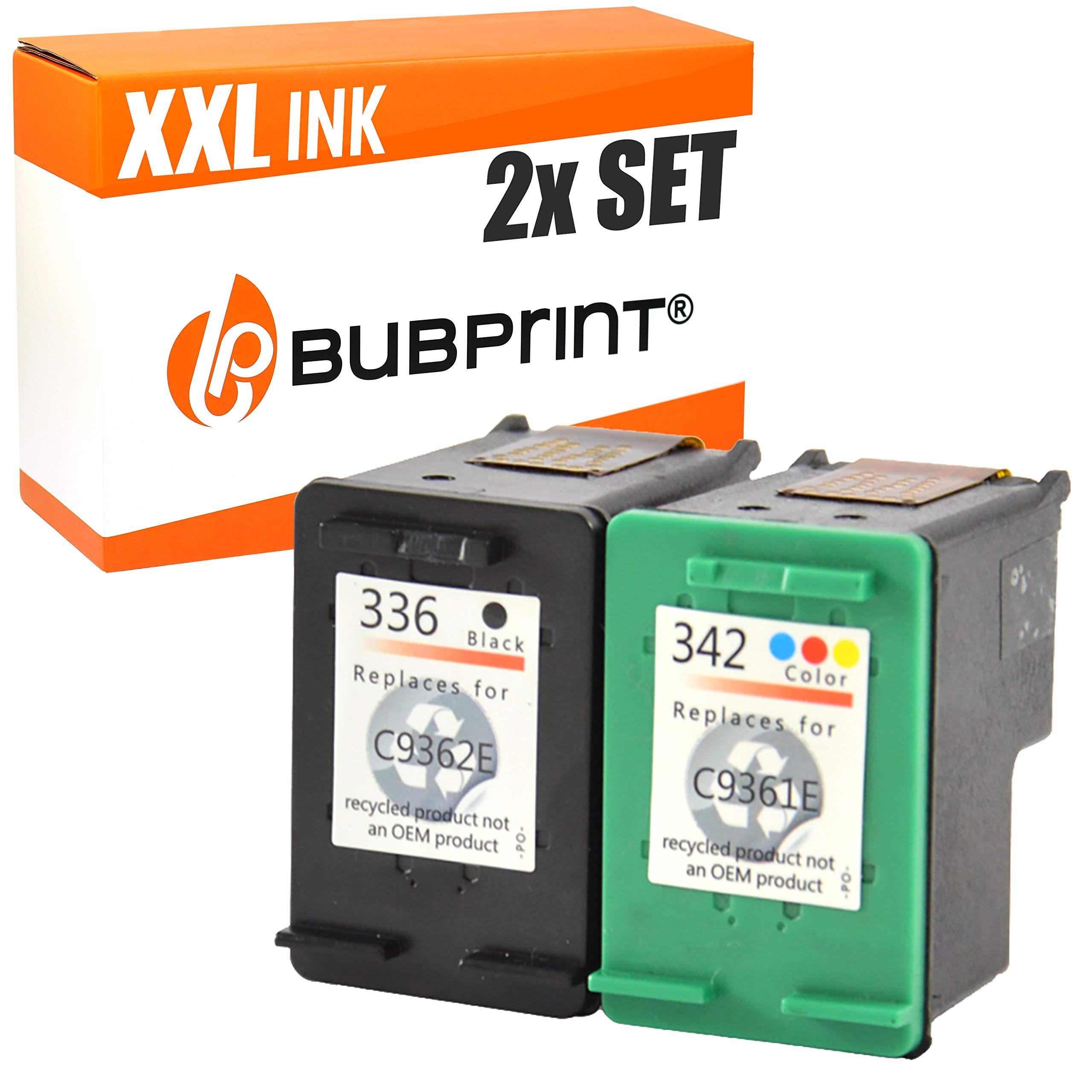 Cartuchos de tinta Compatible con HP 342 + 336, color y negro ...