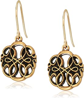 Alex and Ani Womens Path of Life Hook Drop Earrings, Rafaelian