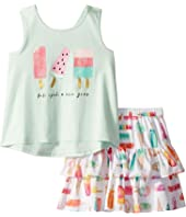 Kate Spade New York Kids - Summer Treats Skirt Set (Toddler/Little Kids)