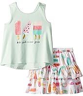 Kate Spade New York Kids - Summer Treats Skirt Set (Toddler/Little Kids)