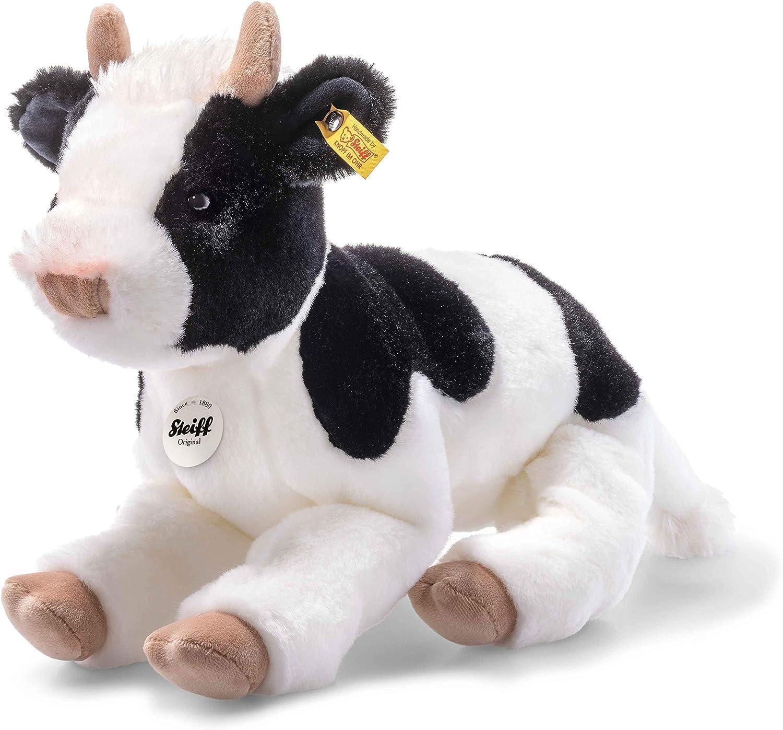 Steiff 72161 Calf, Black White, 32