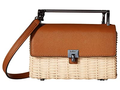 Botkier Lennox Crossbody Straw (Maple) Cross Body Handbags