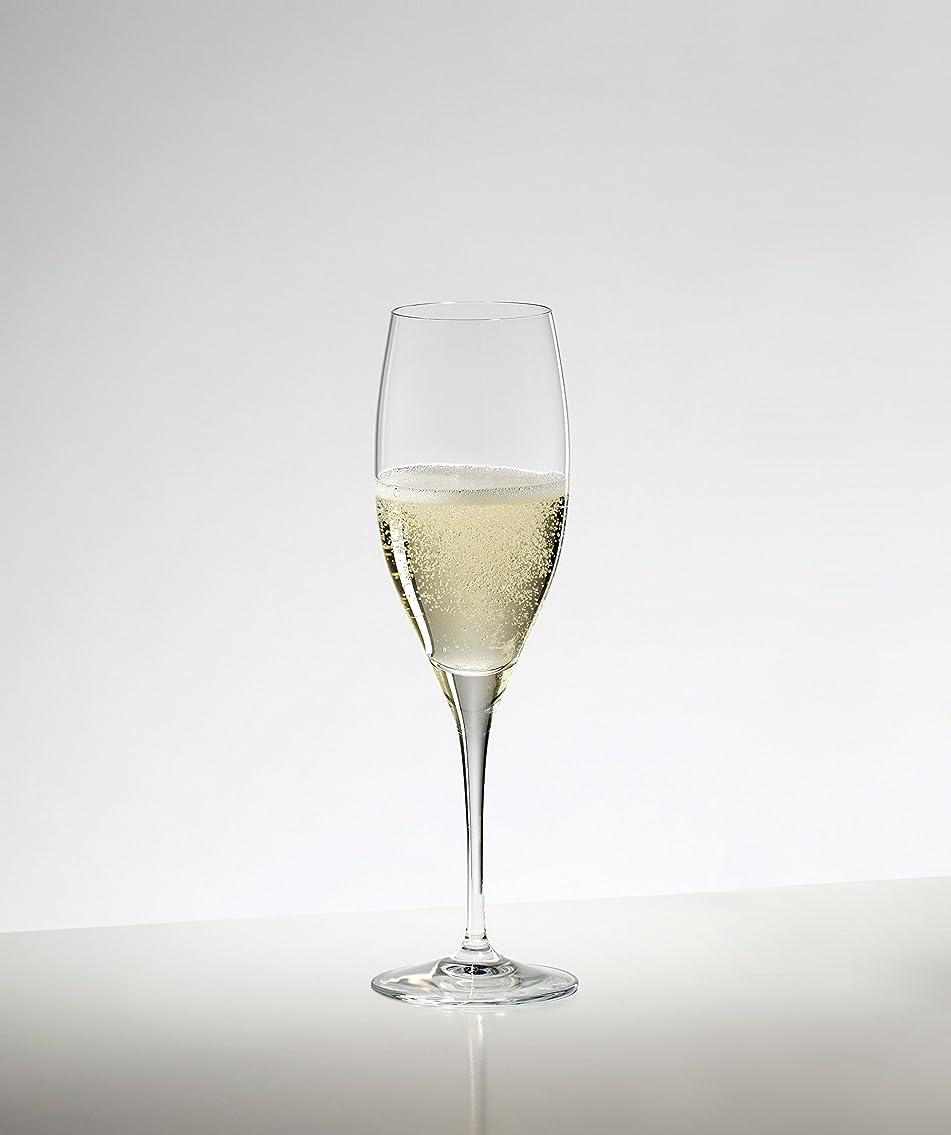 プラグ詳細に交通[正規品] RIEDEL リーデル シャンパン グラス 8個セット ヴィノム キュヴェ?プレスティージュ/ヴィンテージ?シャンパーニュ 230ml  6416/48-8