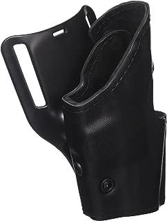 Safariland Model 295 Level II Retention Mid Ride Holster, Black, Nylon Look Right Hand Glock 17, 19, 22, 23, 31