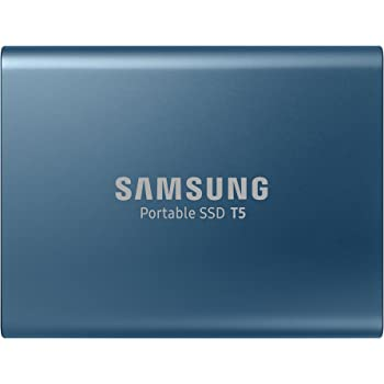Samsung T5 Pocket Size Portable SSD 500GB USB 3.1 External SSD Black