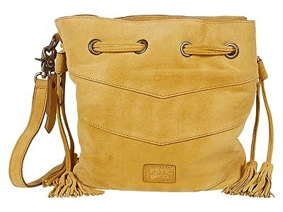 FRYE AND CO. Caden Bucket Bag (Sunflower) Handbags