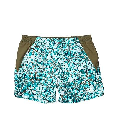 The North Face Kids Class V Water Shorts (Little Kids/Big Kids) (Jaiden Green Flower Power Print 1) Girl