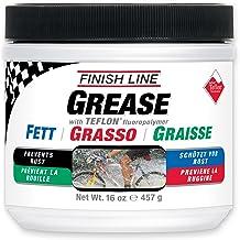 Finish Line Teflon Grease (Premium Synthetic) - Grasa para Bicicletas, Talla 457gr