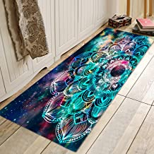 Bathroom Rug Mat Non-Slip Flannel Microfiber Bath Mat Area Rug with Water Resistant Rubber Back Anti-Slip Runner Long Mat ...