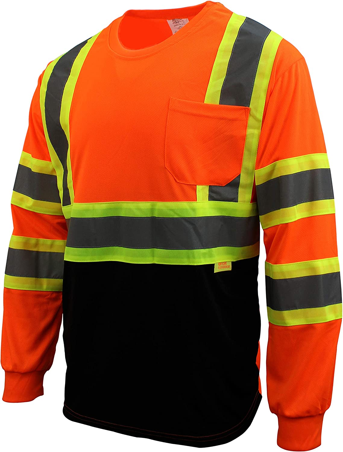 Recommendation Troy Safety TS-BFL-T5711 High-Visibility Class 3 T Shirt Mo with 1 year warranty