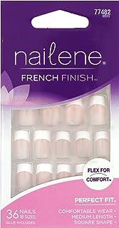 NAILENE FRENCH FINISH FLEX FOR COMFORT #77482 MEDIUM LENGTH