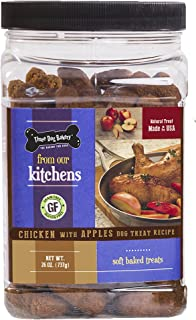 Three Dog Bakery Grain Free Soft Baked Meaty Wafers For Dogs, 26 Oz
