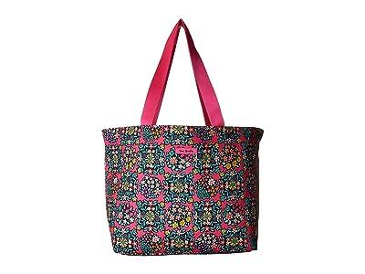 Vera Bradley Drawstring Family Tote (Kaleidoscope Rosettes) Tote Handbags